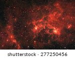 galaxy stars. abstract space... | Shutterstock . vector #277250456