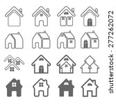 house icon | Shutterstock .eps vector #277262072