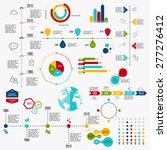 business data market elements... | Shutterstock .eps vector #277276412