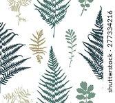 vector illustration of fern... | Shutterstock .eps vector #277334216