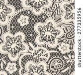 lace seamless pattern. | Shutterstock .eps vector #277335956