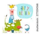 Birthday Fun Cartoon Farm...