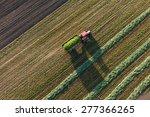 aerial view of harvest fields... | Shutterstock . vector #277366265