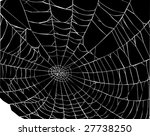 illustration with spider web... | Shutterstock .eps vector #27738250