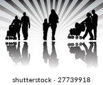 family life | Shutterstock .eps vector #27739918
