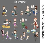 network of people who are...   Shutterstock .eps vector #277400972