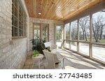 screened in porch | Shutterstock . vector #27743485