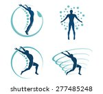 medical icons of people ... | Shutterstock .eps vector #277485248