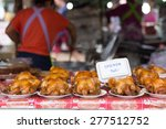 thai street food  delicious ... | Shutterstock . vector #277512752