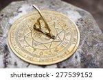 Vintage Brass Sundial