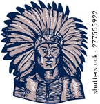 etching engraving handmade... | Shutterstock .eps vector #277555922