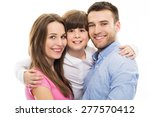 family with son  | Shutterstock . vector #277570412