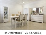 dining room interior  | Shutterstock . vector #277573886