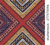 tribal. vintage ethnic seamless ... | Shutterstock .eps vector #277575596