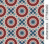 seamless pattern. vintage... | Shutterstock .eps vector #277582682