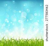 illustration summer nature... | Shutterstock . vector #277583462