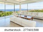 White Living Room In The Moder...