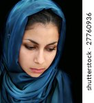 a portrait of a young arab... | Shutterstock . vector #27760936