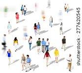 diverse diversity ethnic...   Shutterstock . vector #277620545