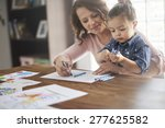 never is too early for... | Shutterstock . vector #277625582