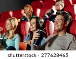 cinema  entertainment and... | Shutterstock . vector #277628465