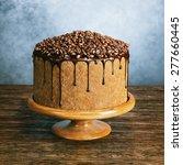 Super Chocolate Vegan Cake With ...