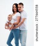 family studio baby  | Shutterstock . vector #277664558