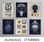 set of poster  flyer  brochure... | Shutterstock .eps vector #277688882