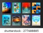 set of poster  flyer  brochure... | Shutterstock .eps vector #277688885