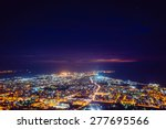 city with a night on the beach | Shutterstock . vector #277695566