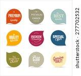 modern design labels | Shutterstock .eps vector #277702532