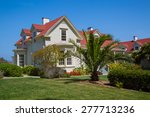 old house in presidio park  san ... | Shutterstock . vector #277713236