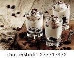 traditional italian dessert... | Shutterstock . vector #277717472