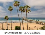 manhattan beach  usa   march 28 ... | Shutterstock . vector #277732508