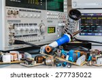 various power supplies in a... | Shutterstock . vector #277735022