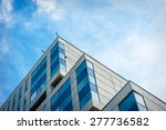 modern apartment building in... | Shutterstock . vector #277736582