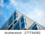 modern apartment building in... | Shutterstock . vector #277736582
