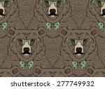 Animal Pattern  Bear Print ...