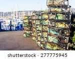 Crab Traps Stacked At...