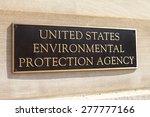 washington  dc   may 4  plaque... | Shutterstock . vector #277777166