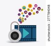 technology design over white...   Shutterstock .eps vector #277784048