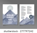 editable a4 poster for design ... | Shutterstock .eps vector #277797242