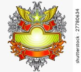 emblem with the information... | Shutterstock .eps vector #27780634