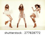 fashion and glamour concept  ... | Shutterstock . vector #277828772