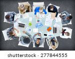 meeting communication planning... | Shutterstock . vector #277844555