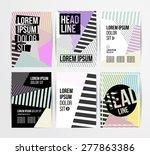 flyer  brochure design... | Shutterstock .eps vector #277863386
