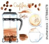 Coffee Press Painted With...