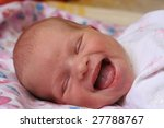 emotions of the baby on a white ... | Shutterstock . vector #27788767