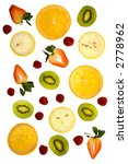 fresh fruit   delicious and... | Shutterstock . vector #2778962