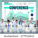 conference seminar meeting... | Shutterstock . vector #277913612